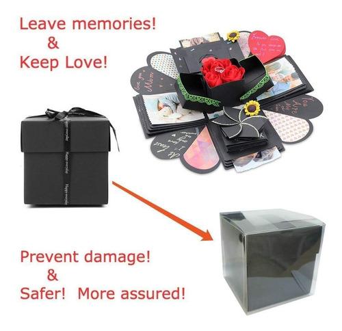 kicpot creativo explosion caja de regalo amor memoria album