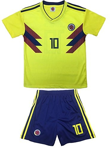 info for 71ab5 30ccb Kid Box Colombia 2018 James Rodriguez 10 Jersey De Futbol
