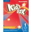 kid s box 1 activity book with online 2nd edition- cambridge