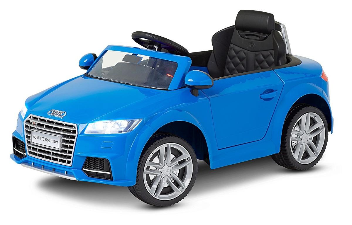Kid Trax Audi Tt Paseo Eléctrico En 6v Azul 423777 En Mercado Libre