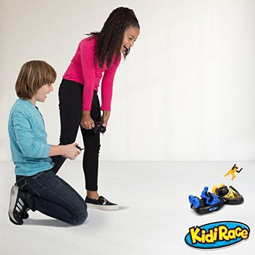kidirace rc bumper cars | coches de control remoto - juego d