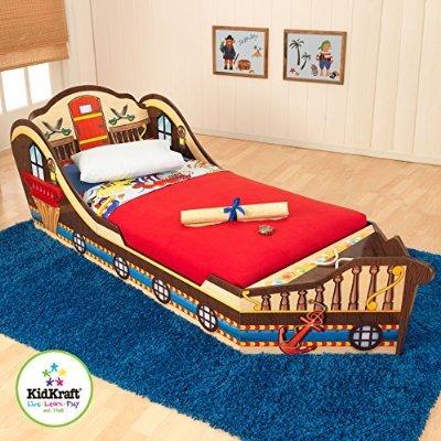 Kidkraft cama para ni os peque os pirata 4 en - Camas extensibles para ninos ...