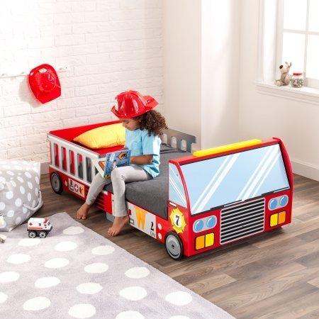 Kidkraft Fire Truck Cama Carro Bombero Niños Bebe - $ 979.000 en ...