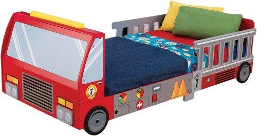 Kidkraft Fire Truck Cama Para Ninos Pequenos 559000 En Mercado - Cama-para-nios-pequeos