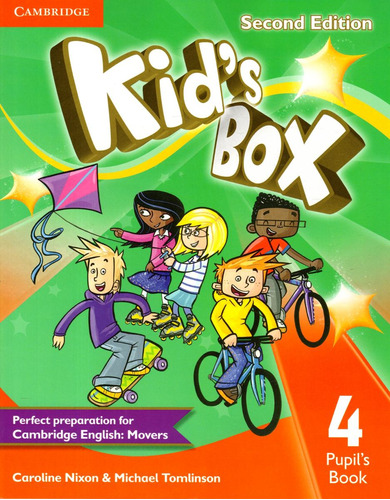 kids box 4 - pupils book - second edition - cambridge
