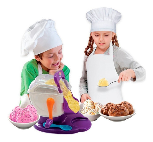 kids chef sorveteria faz sorvete gostoso brincando multikids
