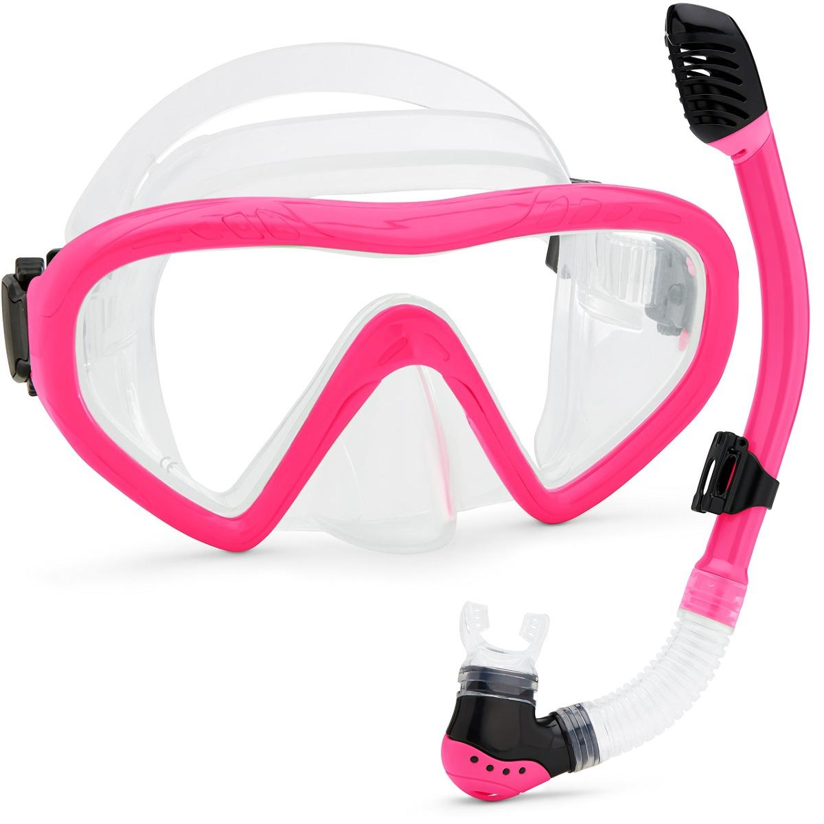 a8ec013054 Kids Snorkel Set Máscara Subacuática Snorkel Set Cómoda Len ...