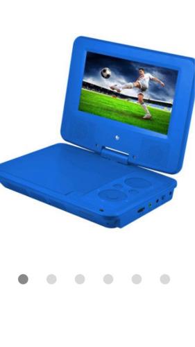 kidscorner bellisimos dvd portatiles de colores con audifono
