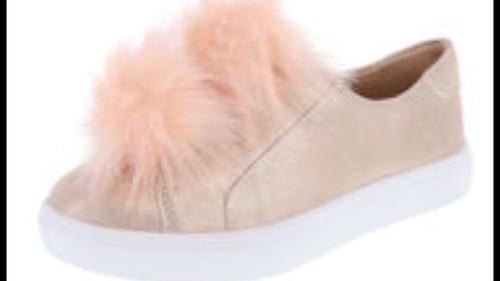 kidscorner bellisimos zapatos pompon para niñas