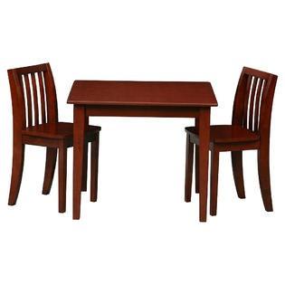kidsrus mesa y sillas de madera para niños