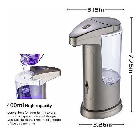 kidun dispensador de jabon electrico automatico de alta capa