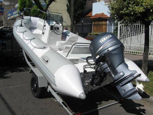 kiel 4,6 con yamaha 50 hp 4t carburado el mas sencillo