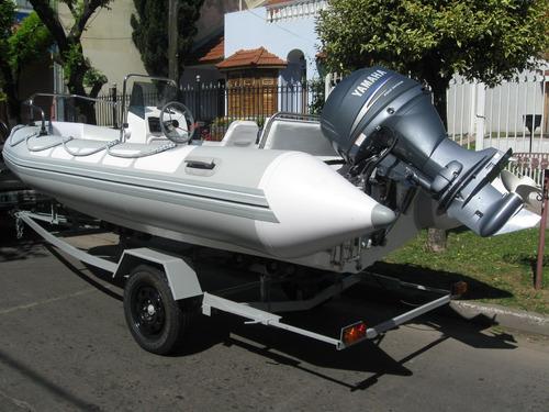 kiel 4,6 matrizado c/ mercury40 hp 4 tiempos (super oferta )