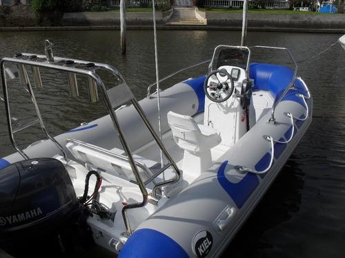 kiel 4,6 matrizado con mercury 60 hp 4 tiempos ecologico okm