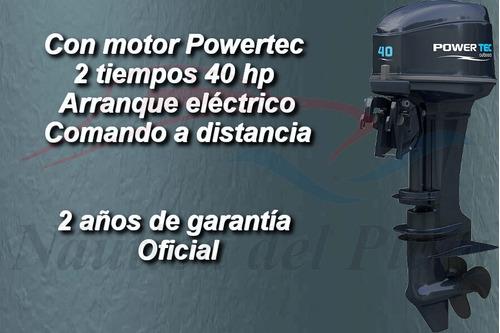 kiel 460 matrizado cero hs a precio de usado con motor 40 hp