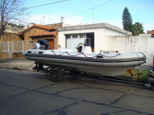 kiel 5,6 matrizado con el new mercury 115 hp 4 t de 2100 cc