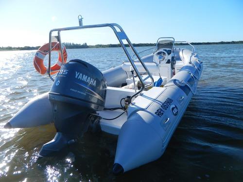 kiel 5,6 mts matrizado con mercury 50 hp 4 ecologico