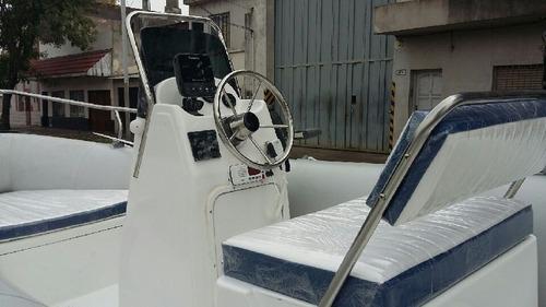 kiel 5,6 mts matrizado con mercury 75 hp 2 tiempos