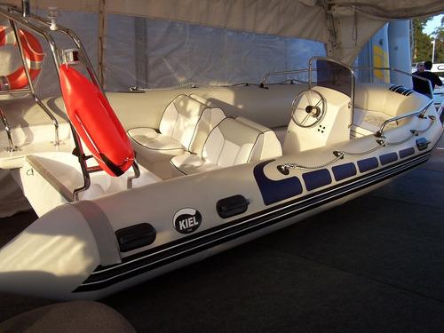 kiel 5,6 mts matrizado con yamaha 60 hp 2 tiempos full