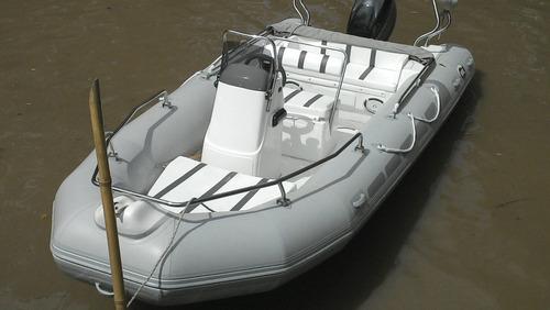 kiel 5,6 mts matrizado con yamaha 60 hp 4 entrega inmediata