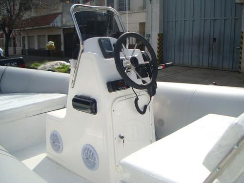 kiel 5,6 mts matrizado con yamaha 90 hp 2 tiempos full