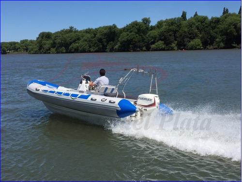 kiel 560 con 115 hp evinrude etec 2020 un misil en el agua!