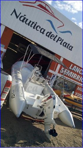 kiel semirrigido 510 equipado entrega inmediata evinrude 60