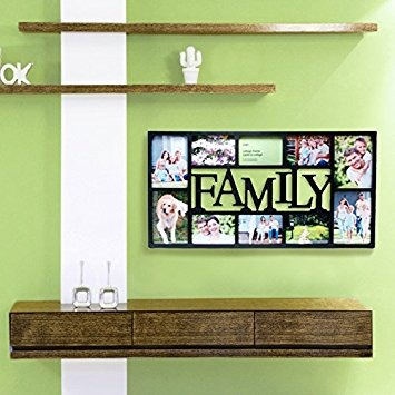 Kiera Grace Family 10 Opening Collage Frame, 14.5 By 28.5-in ...