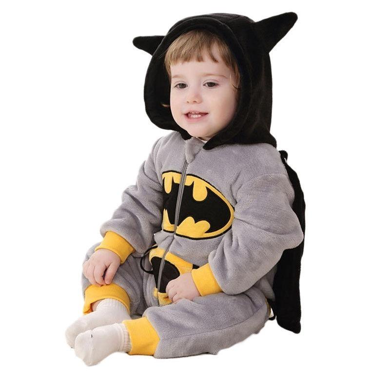 4ba4280da7c263 Kigurumi Batman Bebé