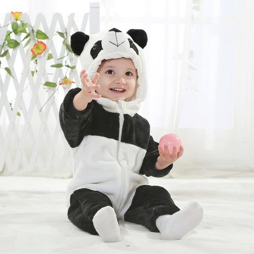 kigurumi mameluco onesi panda para bebé babynova