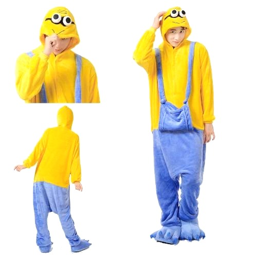 b0eb5e795f Kigurumi Minions Disfraz Pijama Entero Mi Villano Favorito ...