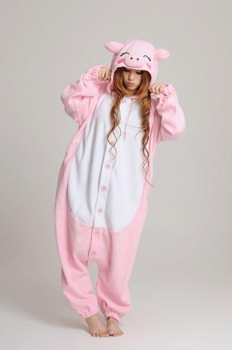 f213ec3e3 Kigurumi Pijama Enterizo Moda Niña Dama Unicornio Panda Emoj - Bs ...