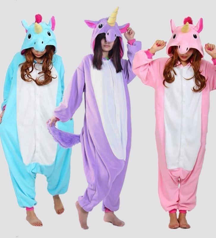 f0a44d21a kigurumi pijama enterizo moda niña dama unicornio panda emoj. Cargando zoom.