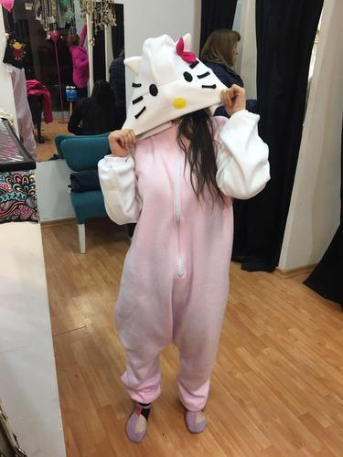 kigurumi pijama entero niños polar towel personajes disfraz