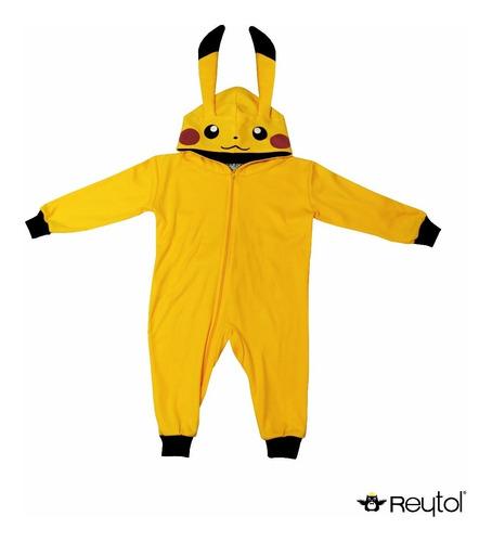 kigurumi pijama niño pikachu - envío incluido