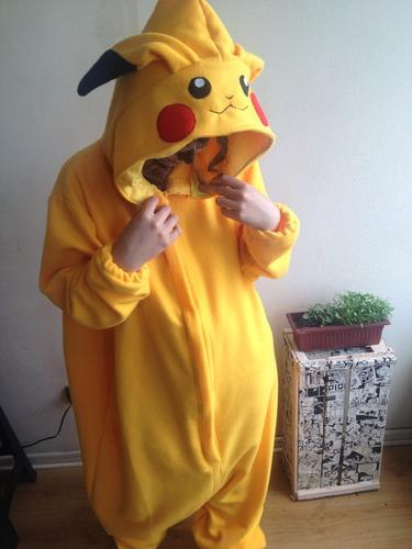 kigurumi pijama pikachu niños niñas