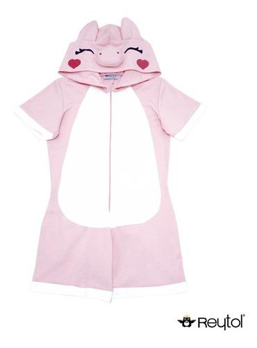 kigurumi pijama short puerquito - envío incluido