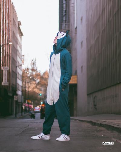 kigurumi pijama snorlax - envío incluido
