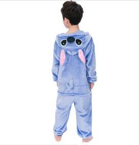 venta caliente online 25d2d 30772 Kigurumi Pijama Stitch Mameluco, Disfraz, Niños