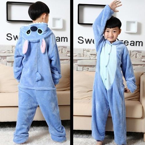 kigurumi pijama unicornio stitch mameluco, disfraz, niños