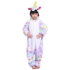 1ad5447645 Pijama De Unicornio Con Pantuflas - Kigurumis Rosa chicle en Mercado ...