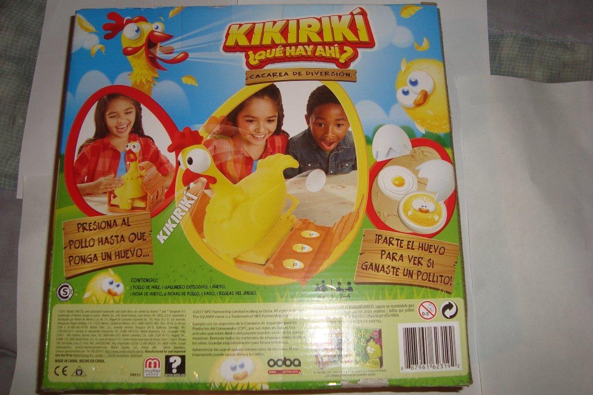 Kikiriki Que Hay Ahi Juego De Mesa 750 00 En Mercado Libre