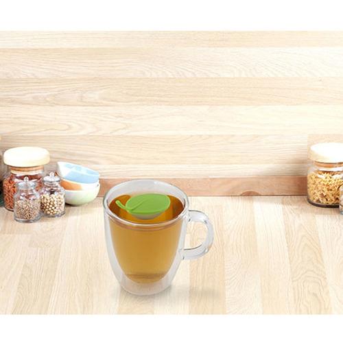 kikkerland cocina infusor té forma hoja ( diseño coreano )