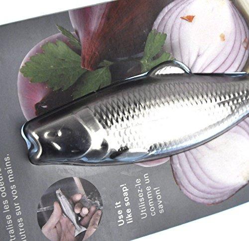 kikkerland fish magic soap