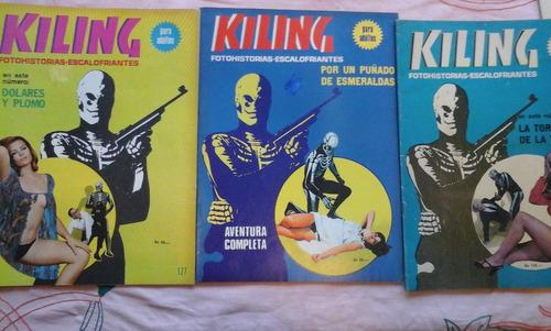 kiling: la torre de la tortura con 64 paginas de accion