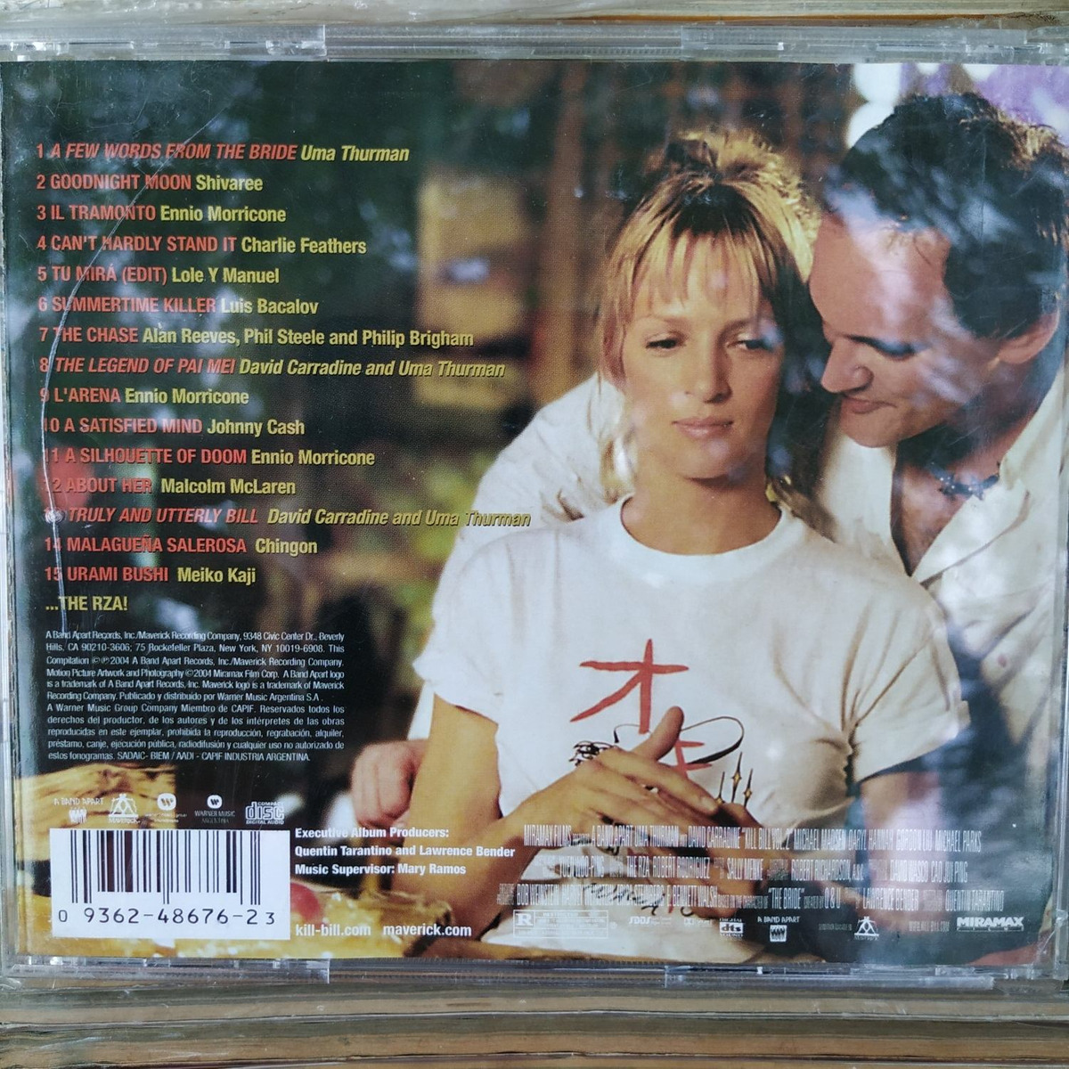 Kill Bill Vol 2 Soundtrack Tarantino Cd Excelente Duncant - $ 217,80 en  Mercado Libre