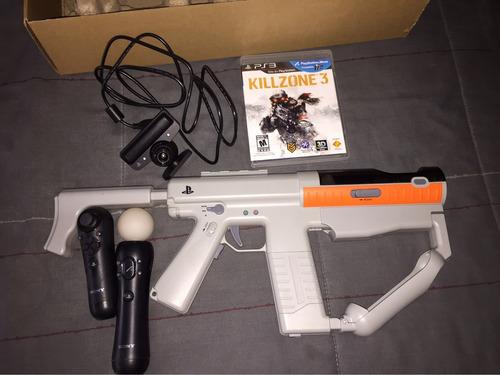 kill zone 3 + pistola con agregados (semi nuevo)