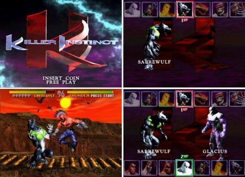 killer instinct 1 y 2 arcade para pc envío digital