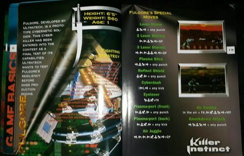 killer instinct covers super nes nintendo version colección