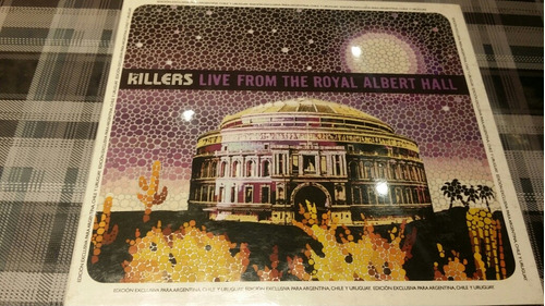 killers - live  - cd + dvd cerrado nuevo